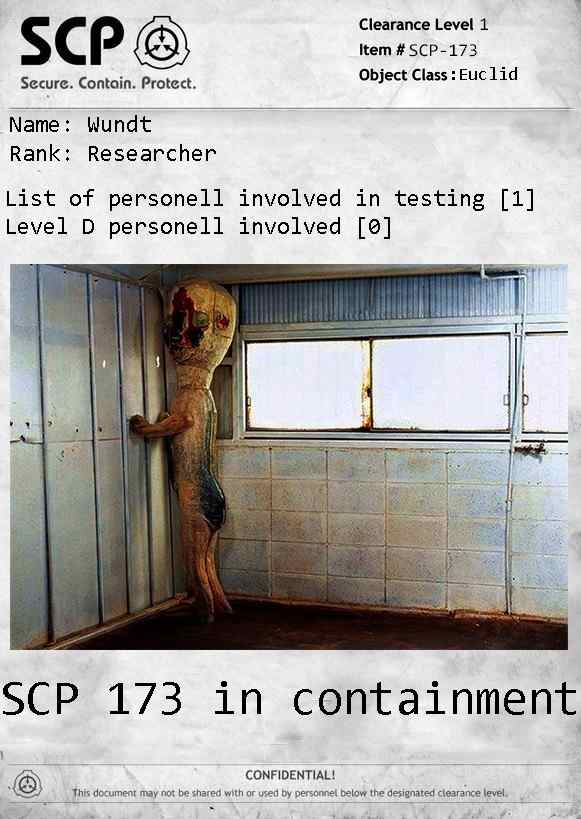SCP 173 crosstest with SCP 1990  - SCP - Gaminglight Forums